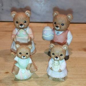 Homco Easter bears